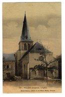 CPA Colorisée Tramée Valady Aveyron 12 L' Eglise éditeur Désiré Malzac à Rodez N°227 - Autres Communes
