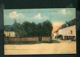 CPA: 71 - St-GENGOUX LE-NATIONAL - RUE DES TANNERIES - PRESBYTÈRE ET HOSPICE - France