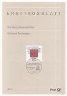 West-Duitsland - Ersttagsblatt - 43/1997 - 300. Geburtstag Von Gerhard Tersteegen - Michel 1961 - [7] West-Duitsland