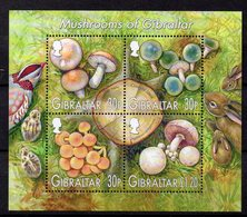 GIBRALTAR    Timbres Neufs ** De 2003   ( Ref 5371 )  Champignons - Gibilterra