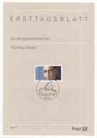 West-Duitsland - Ersttagsblatt - 45/1997 - 100. Geburtstag Von Thomas Dehler - Michel 1963 - [7] West-Duitsland