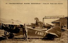 44 - BOUGUENAIS - Chateau-Bougon - Aérodrome - Aéroport - Avion - Potez 58 - Bouguenais