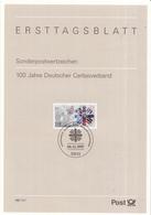 West-Duitsland - Ersttagsblatt - 46/1997 - 100 Jahre Deutscher Caritasverband - Michel 1964 - Schrijvers