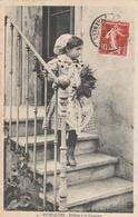 66--RIVESALTES--FILLETTE A LA CATALANE--1909-VOIR SCANNER - Rivesaltes
