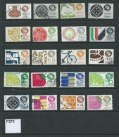 Mexico 1975 Exports 48 Values To 3000p (2 Scans) - Mexico