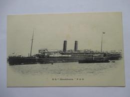 "S S   "" MACEDONIA ""  P & O               TTB - Steamers"