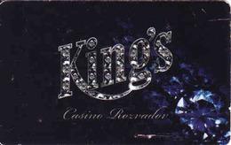 Casino King Rozvadov,, Magnetic Keycard, Czech Republic - Cartes De Casino