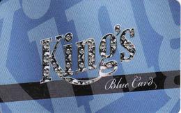 Casino Kings Rozvadov,, Blue Card, Czech Republic - Cartes De Casino