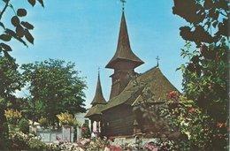 The St. Mary`s Hermitage In Tekirghiol.    Wooden Church. Romania   # 07625 - Romania