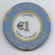 Jeton De Casino Carry-Le-Rouet €1 - Casino