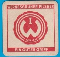 Wernesgrüner Brauerei  Steinberg - Wernesgrün ( Bd 1771 ) Günstige Versandkosten - Bierdeckel