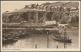 West Side, Mevagissey, Cornwall, C.1930s - Rowse Postcard - Other