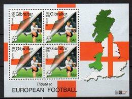 GIBRALTAR    Timbres Neufs ** De  2000   ( Ref 5379 )  Sport - Football - Gibraltar