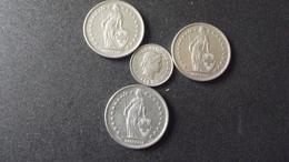 Lots Monnaies Suisse - Monete & Banconote