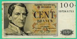 100 Francs - Belgique - 1958 - N°. 10991.C.846 - TB+ - - [ 2] 1831-... : Belgian Kingdom