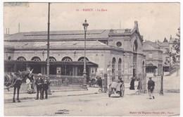 CPA 54 NANCY - La Gare (animée, Circulé 1906) - Nancy