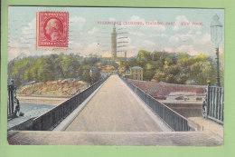 NEW YORK : Highbridge Crossing Looking East. 2 Scans. Edition Bosselman - New York City