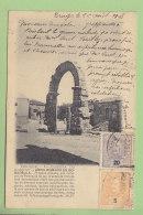 OLIVEIRA DO HOSPITAL : Arco Romano De Bobadella. Archeologo Portugues. Dos Simple. 2 Scans. - Coimbra