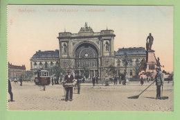 BUDAPEST : Ostbahnhof. TBE. Dos Simple. 2 Scans. - Hongrie