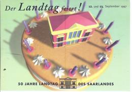 Saarbrücken - 5O Jahre Landtag Des Saarlandes -  (86000-068) - Saarbruecken