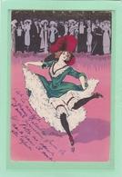 NAILLOD - Danseuse Du Moulin Rouge - Bon état Mais écrite - Naillod