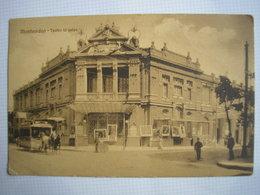 URUGUAY - CPA - MONTEVIDEO - Teatro Urquiza - ATTELAGE - Belle Carte Peu Commune - Uruguay