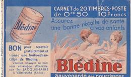 France Couverture De Carnet Vide Série S 377 Bledine Et Autres Publicités ...... - Usage Courant