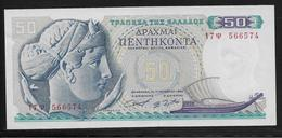 Grèce -  50 Drachmes - Pick N°195 - NEUF - Griekenland