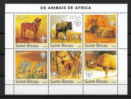GUINEA - BISSAU  2003 Africa Animals - Stamps