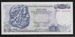 Grèce -  50 Drachmes - Pick N°199 - SPL - Grèce