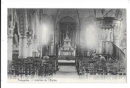 Trazegnies  ( M 4088 )  Intérieur De L'église - Courcelles