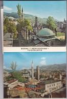 BOSNIE SARAJEVO MINI CARNET DE 16 VUES DIVERSES - Bosnie-Herzegovine