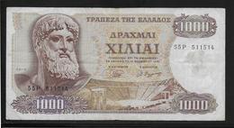 Grèce -  1000 Drachmes - Pick N°198 - TB - Greece