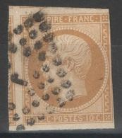 France - YT 13A Oblitéré Losange Bureau J De Paris - 1853-1860 Napoleon III