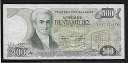 Grèce -  500 Drachmes - Pick N°201 - TTB - Griekenland