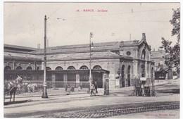 CPA 54 NANCY - La Gare (Imprimeries Réunies), Circulé 1908 - Nancy