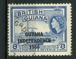 Guyana 1966 8c  Independence Issue  #4 - Guyana (1966-...)