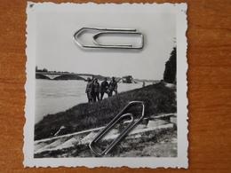 WW2 GUERRE 39 45 COSNE COURS  SUR LOIRE  NIEVRE PHOTO SOLDAT ALLEMAND  PONT DETRUIT - 1939-45