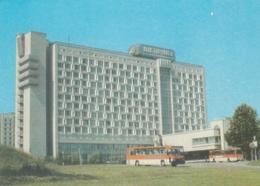Minsk - Hotel Planeta - Bus - Belarus