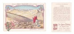 Chromo Chocolat Poulain Orange, Dunes, Sahara, La Nature Et Ses Merveilles, Bédouin à Cheval - Poulain
