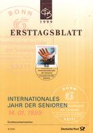 West-Duitsland - Ersttagsblatt - 1/1999 - Internationales Jahr Des Senioren - Michel 2027 - [7] West-Duitsland