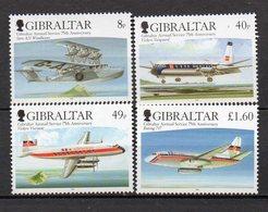GIBRALTAR    Timbres Neufs ** De 2006  ( Ref 5386 )  Transport - Avion - Gibraltar