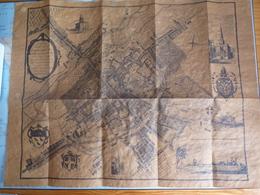 CANTERBURY - REPRODUCTION  VIEUX PLAN DE LA VILLE EN 1798 (?) - Technical Plans