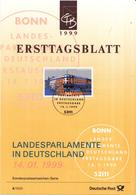 West-Duitsland - Ersttagsblatt - 4/1999 - Landesparlamente Deutschland (II) - Wiesbaden - Michel 2030 - [7] West-Duitsland