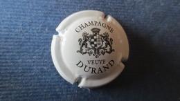 CAPSULE CHAMPAGNE DURAND Blanche Et Noire. écriture Fine - Durand (Veuve)