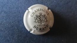 CAPSULE CHAMPAGNE DURAND Blanche Et Noire. écriture Grasse - Durand (Veuve)