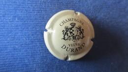 CAPSULE CHAMPAGNE DURAND Crème Et Noire. - Durand (Veuve)