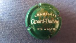 CAPSULE CHAMPAGNE CANARD DUCHENE Verte. Petit Sabre - Canard Duchêne