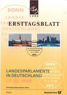 West-Duitsland - Ersttagsblatt - 7/1999 - Landesparlamente Deutschland - Hamburg/Schwerin - Michel 2036-2037 - [7] West-Duitsland