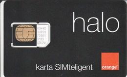 Poland - Orange Halo (standard SIM) - GSM SIM  - Mint - Poland